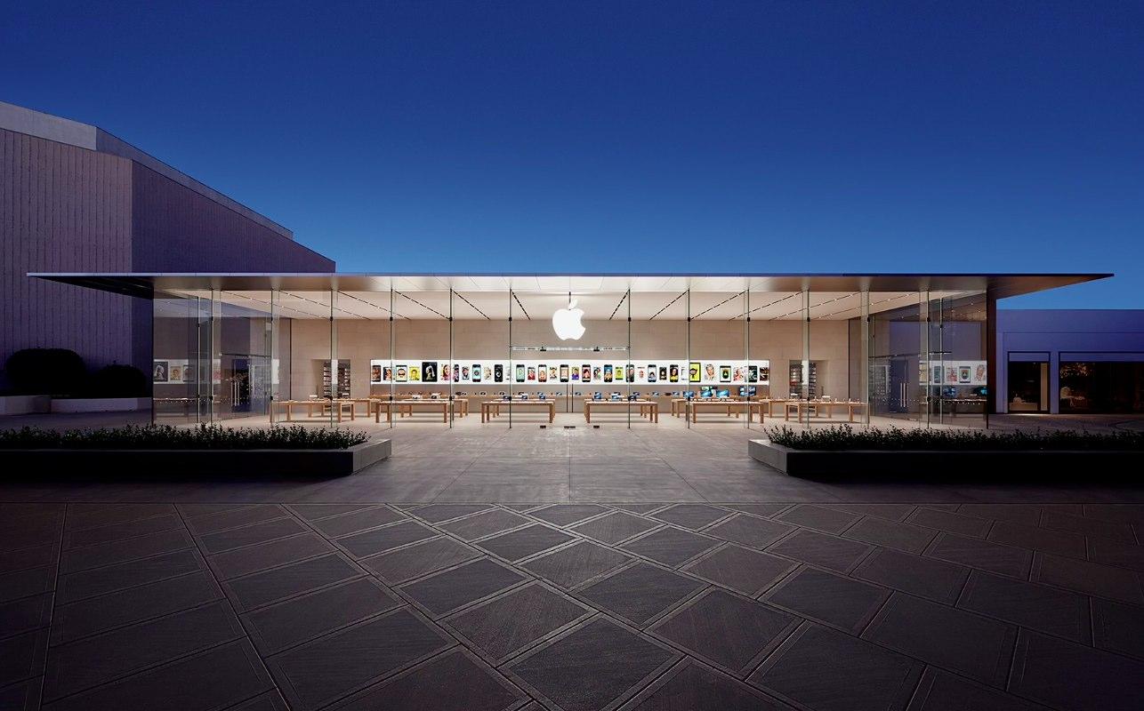 Tienda Apple en Standford, Palo Alto, CA, EEUU