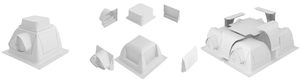 Componentes del sistema Holedeck
