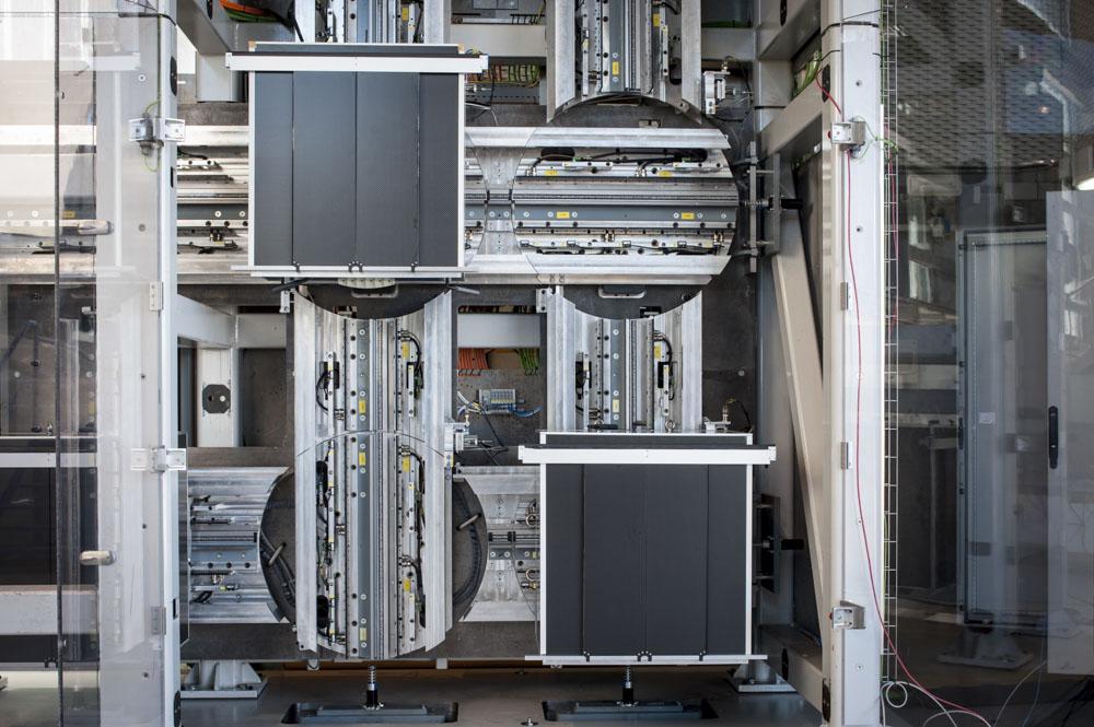 Prototipo del sistema MULTI en Gijón, España