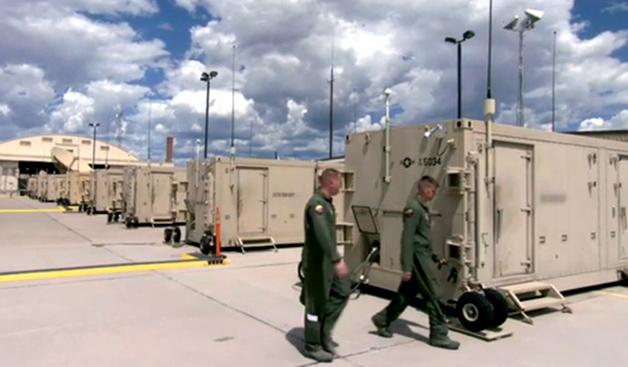 Casetas para pilotos de drones de uso militar