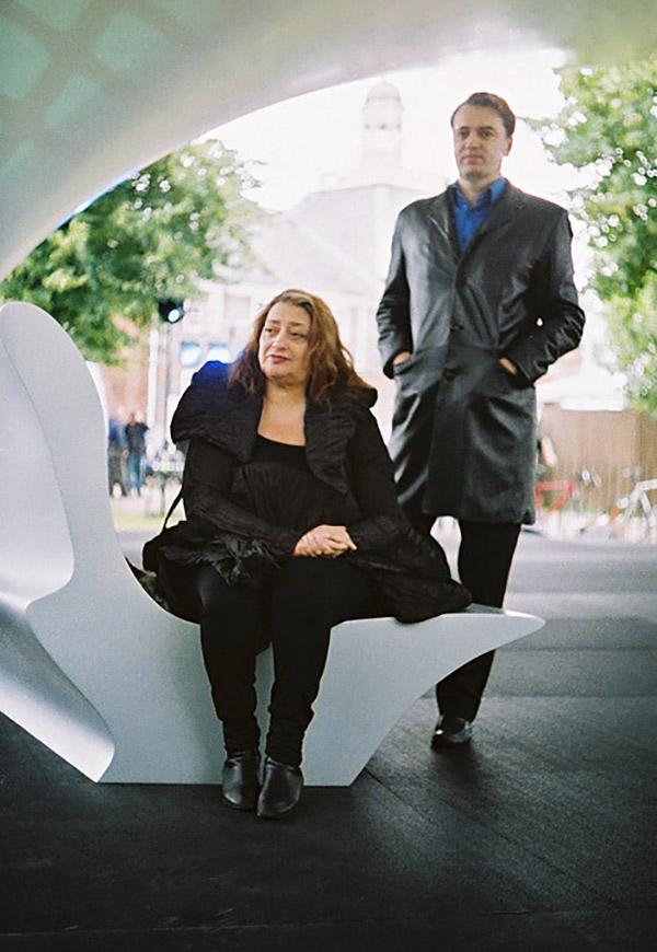 Zaha Hadid y Patrik Schumacher