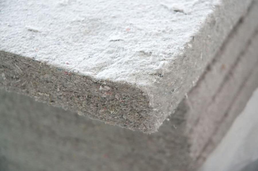 Paneles de fibra de celulosa