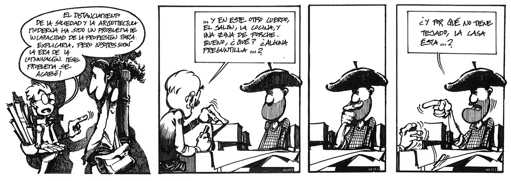 Tira cómica de Klaus