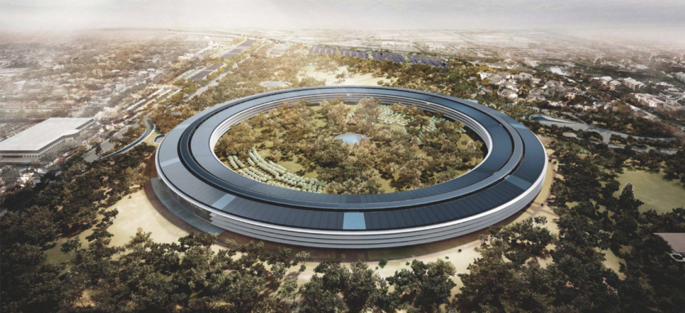 Proyecto del Apple Campus 2. Norman Foster & Partners  .