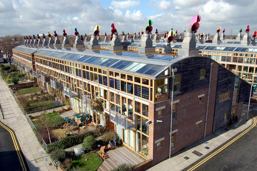 Beddington Zero Energy Development. Inglaterra.