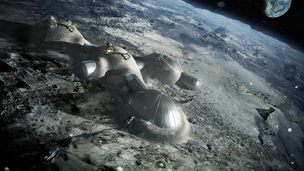 Prototipo de base lunar, Foster and Partners