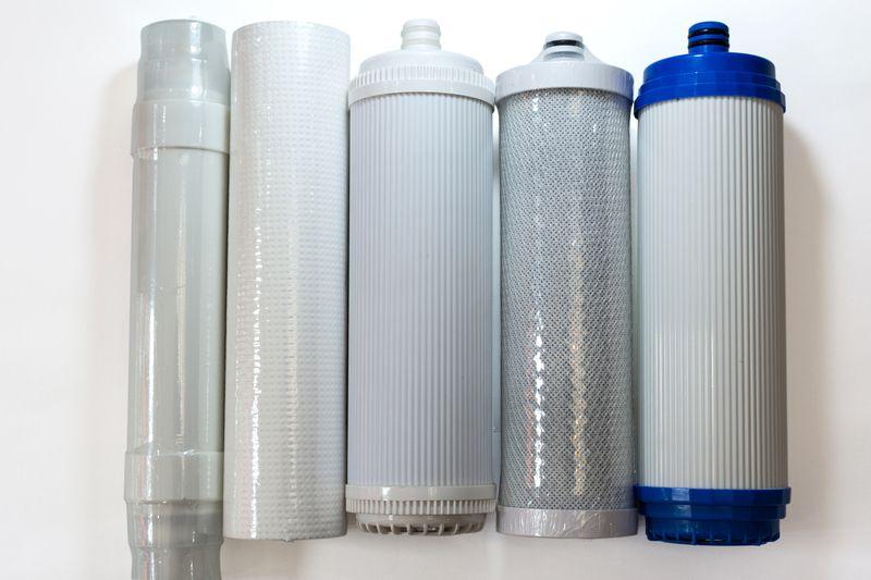 Existen multitud de tipos de filtros de agua