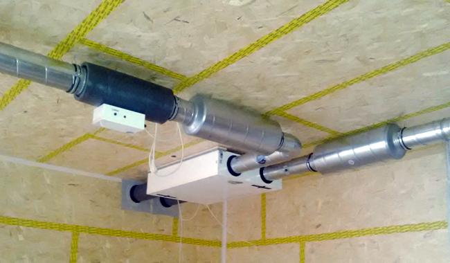 Un recuperador de calor de doble flujo. Proyecto de Albrecht Otxoa-Errarte Arquitectos
