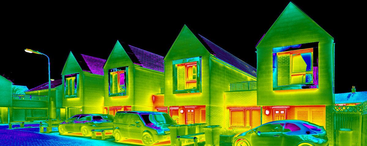 Termografía. Fuente: Red current thermal imaging