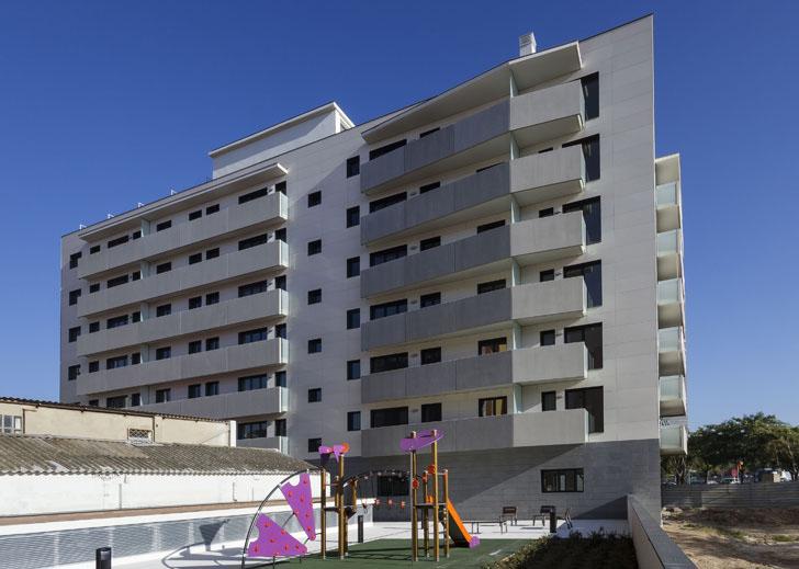 Edificio de viviendas con certificación LEED Oro en Cataluña.