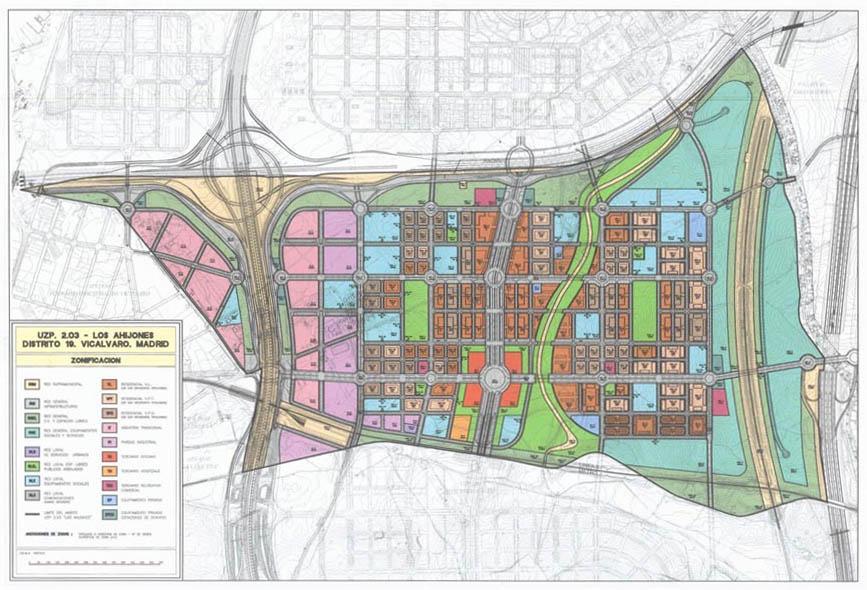 Plan de desarrollo de Los Ahijones.