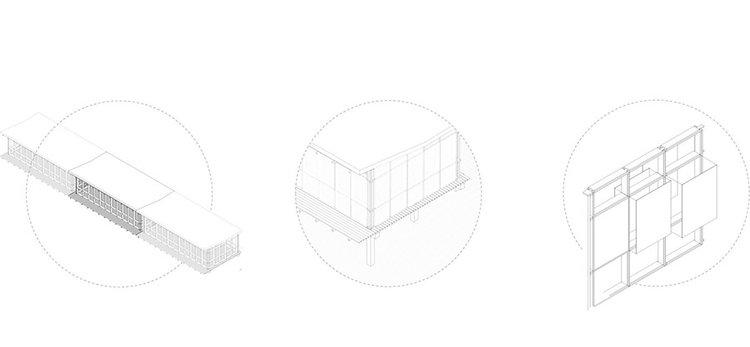 Ampliable, honesta y adaptable. Imagen: Building Blocks