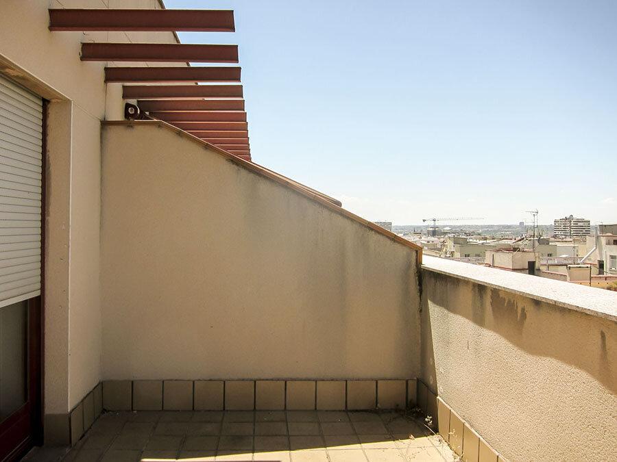 Fotografía de estado original: Estado original de las terrazas
