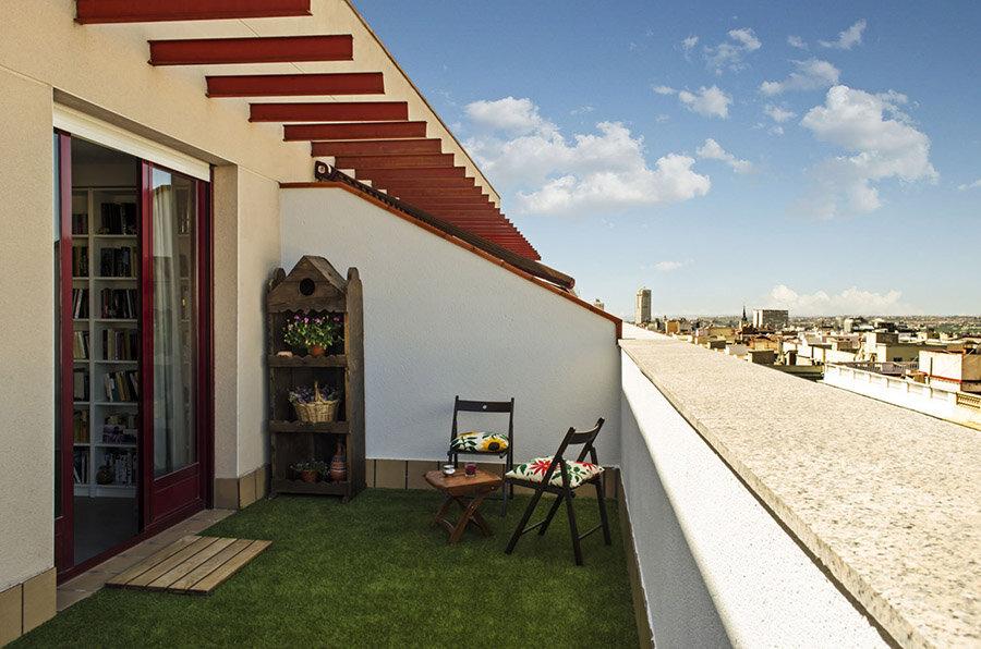 Fotografía de estado reformado: La terraza oeste tras la reforma
