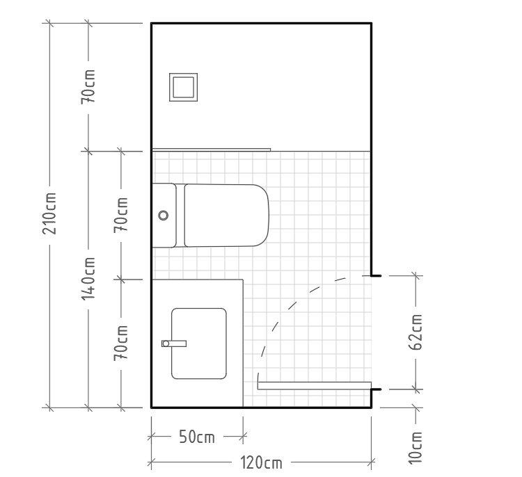 Arrevol Arquitectos Cómo Dimensionar Correctamente Un Baño Distribuciones Para Baños Y Aseos