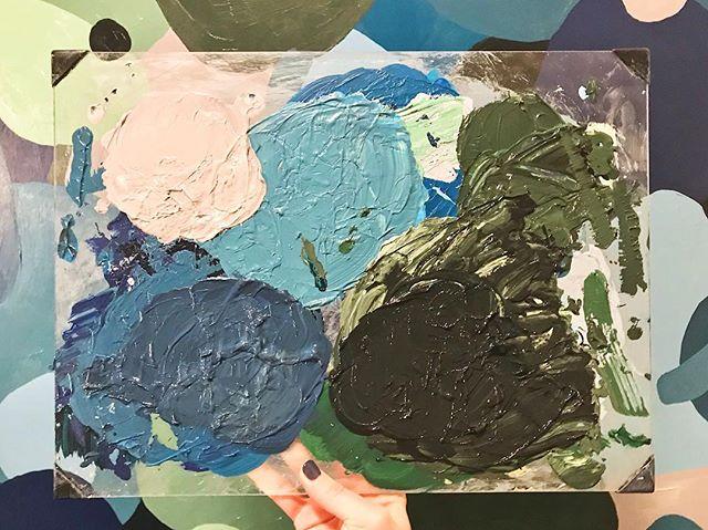 Sometimes I wish I could frame the palette 🎨