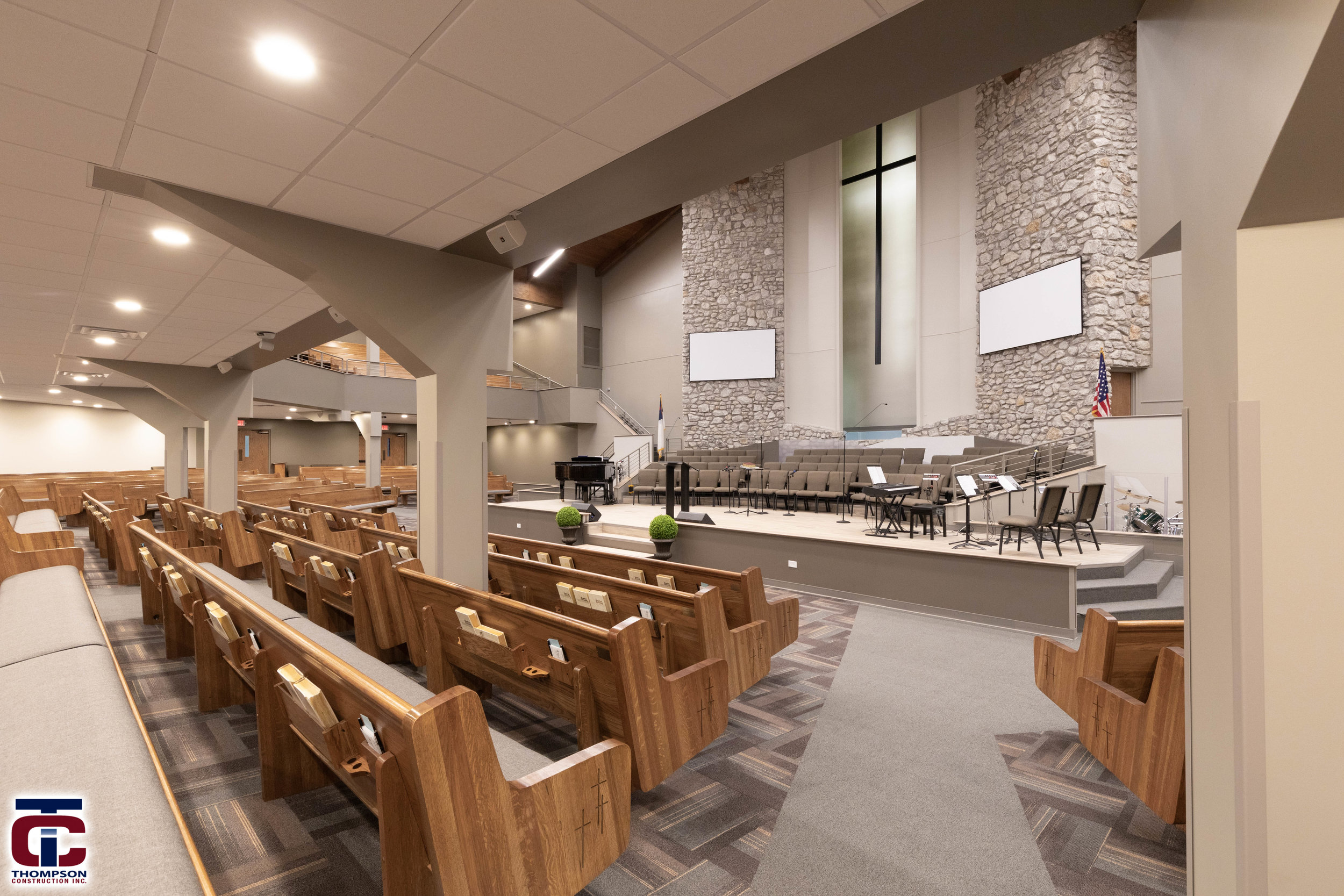 Olivet baptist church renovation -