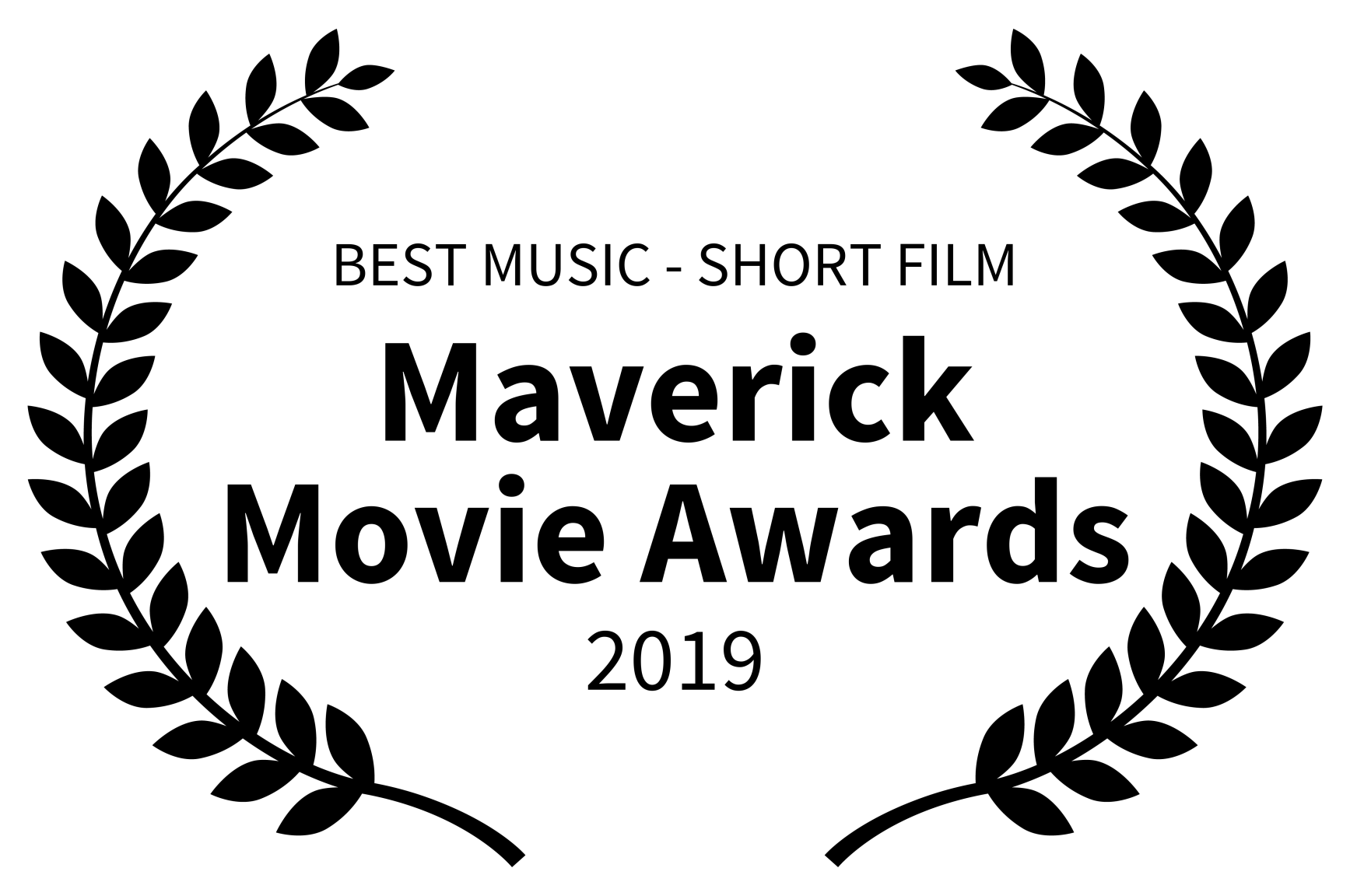 BEST MUSIC - SHORT FILM - Maverick Movie Awards - 2019 black.png