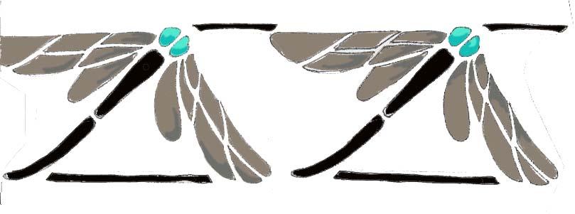 DragonflyStencilDrawing