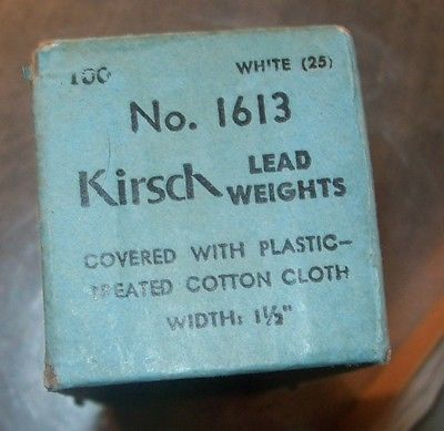 Vintage Curtain Weight package
