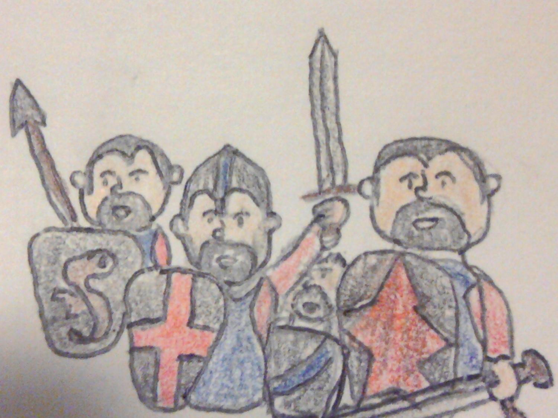 Poorly Drawn Battle of Hastings