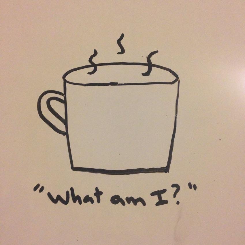 Existential mug