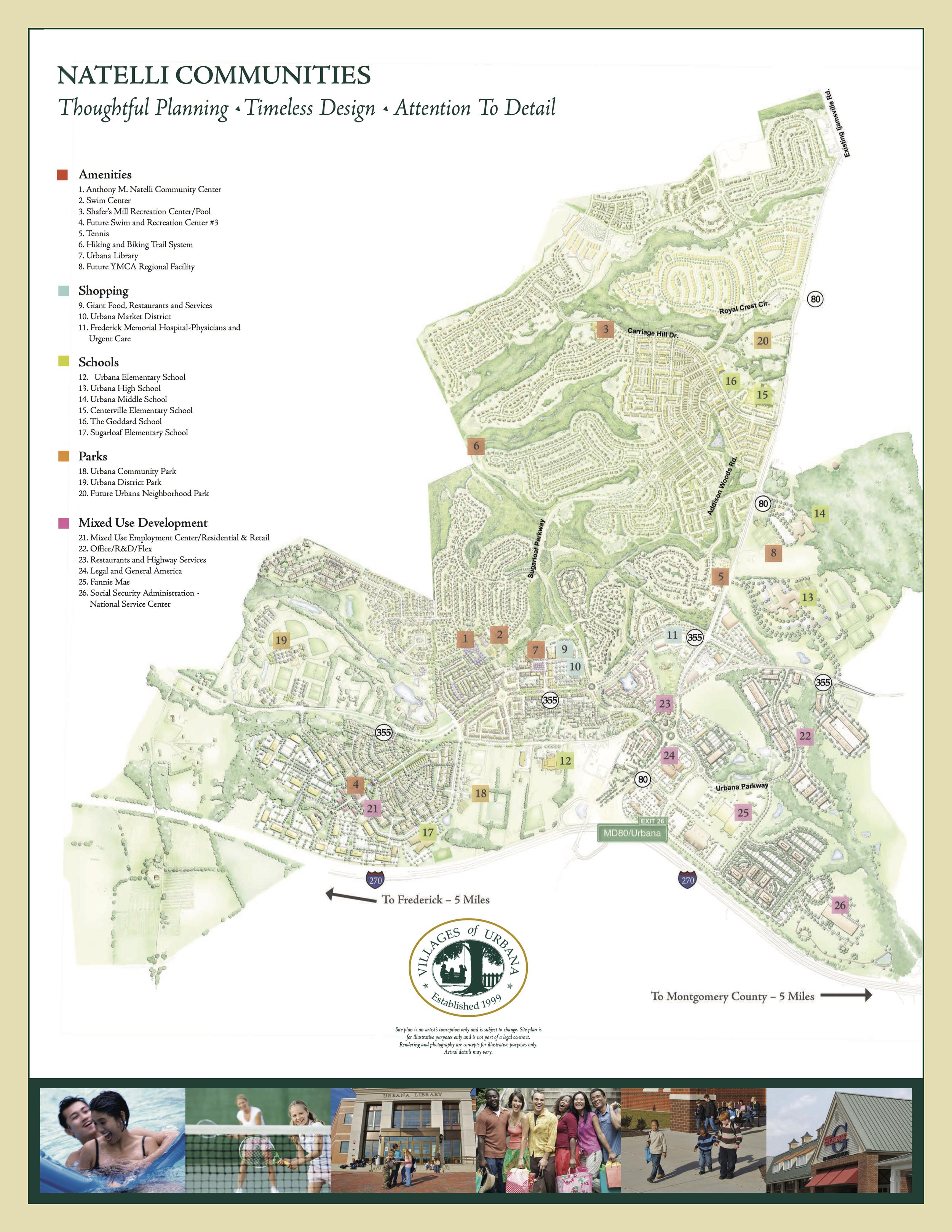 Urbana Community Map