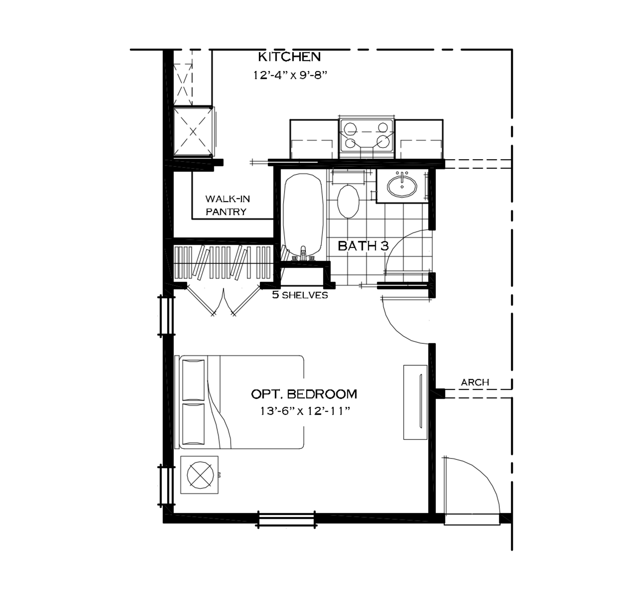 First Floor Bedroom Option