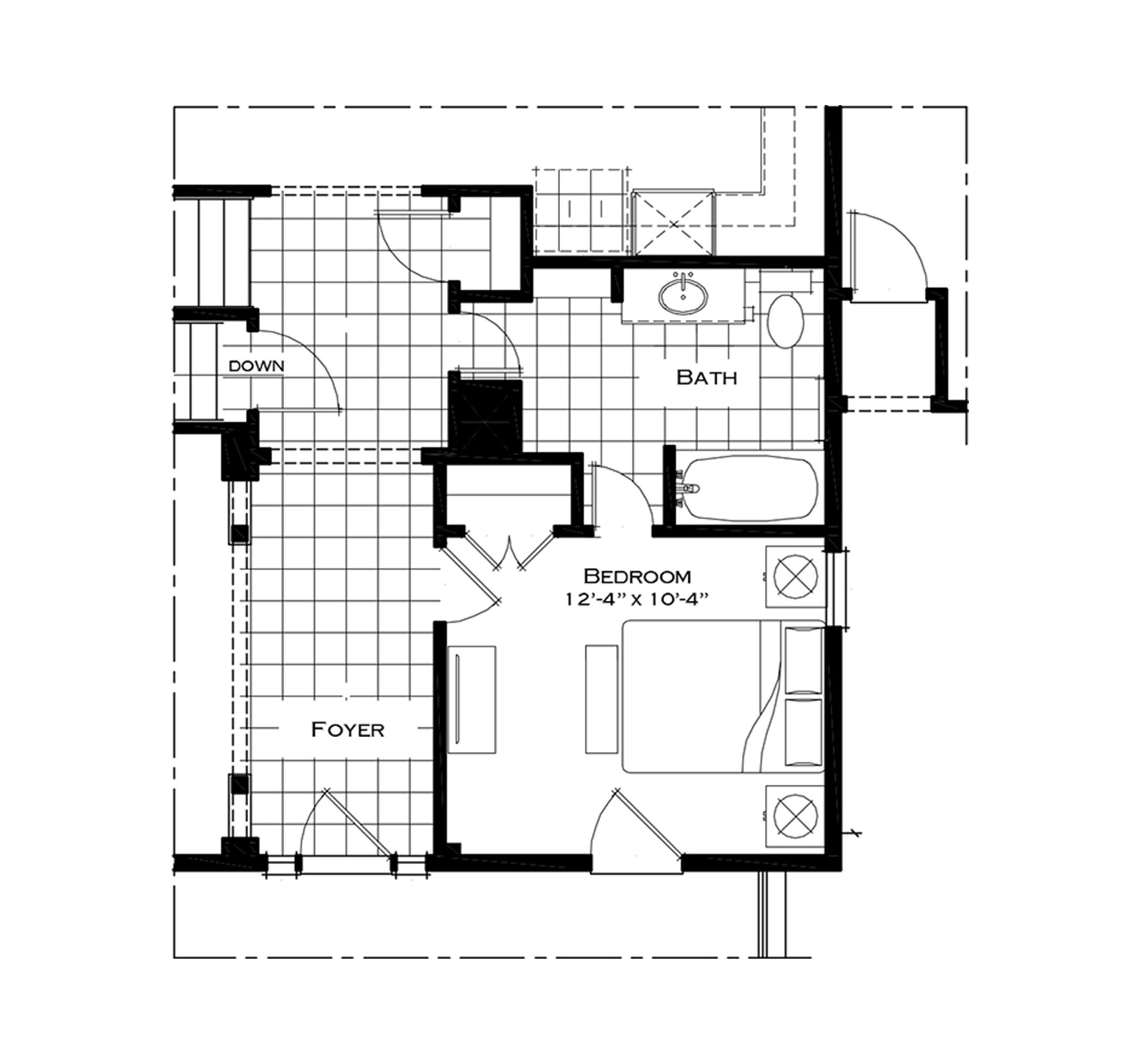 First Floor Bedroom Option