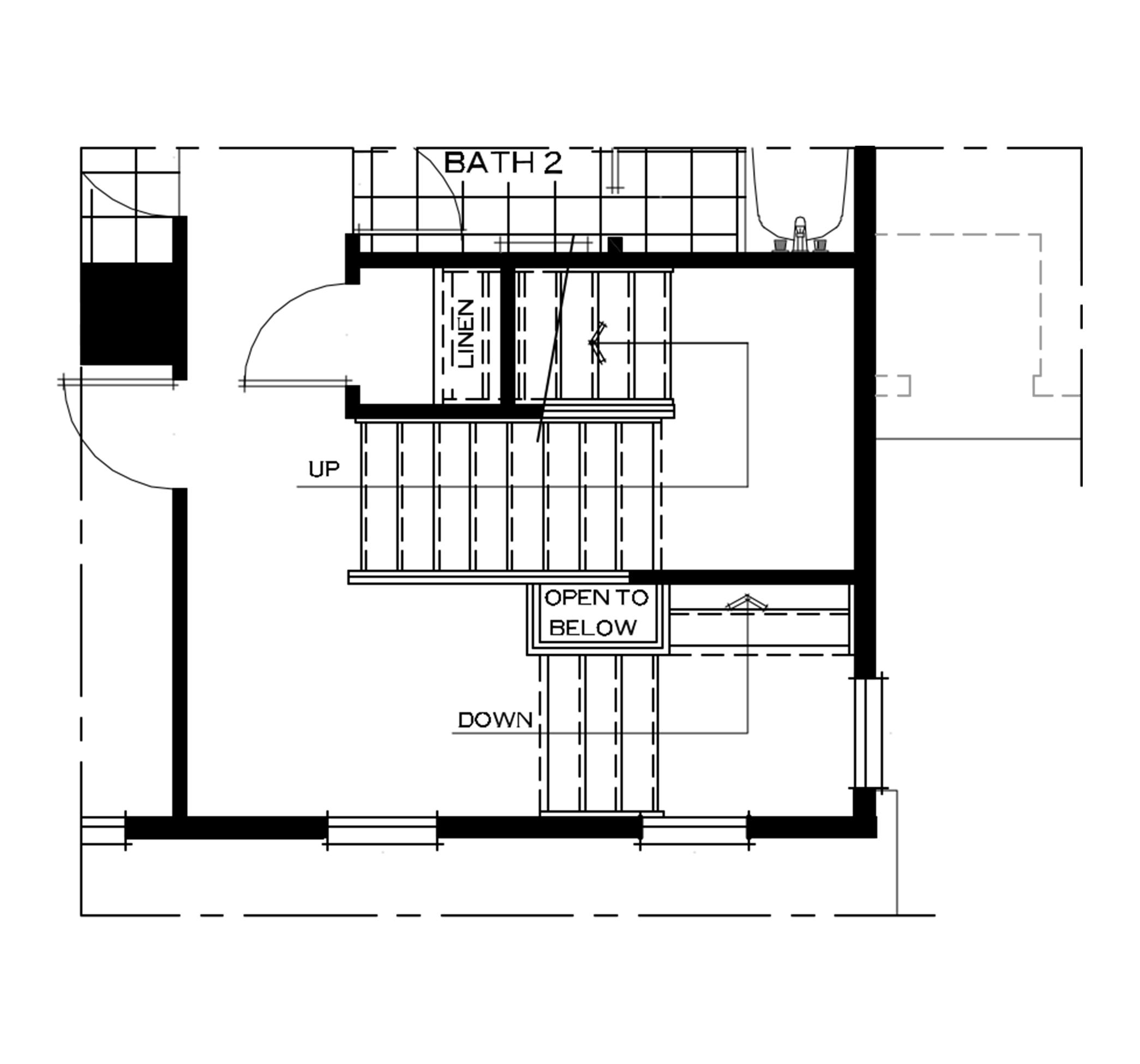 Second Floor Attic Loft Option