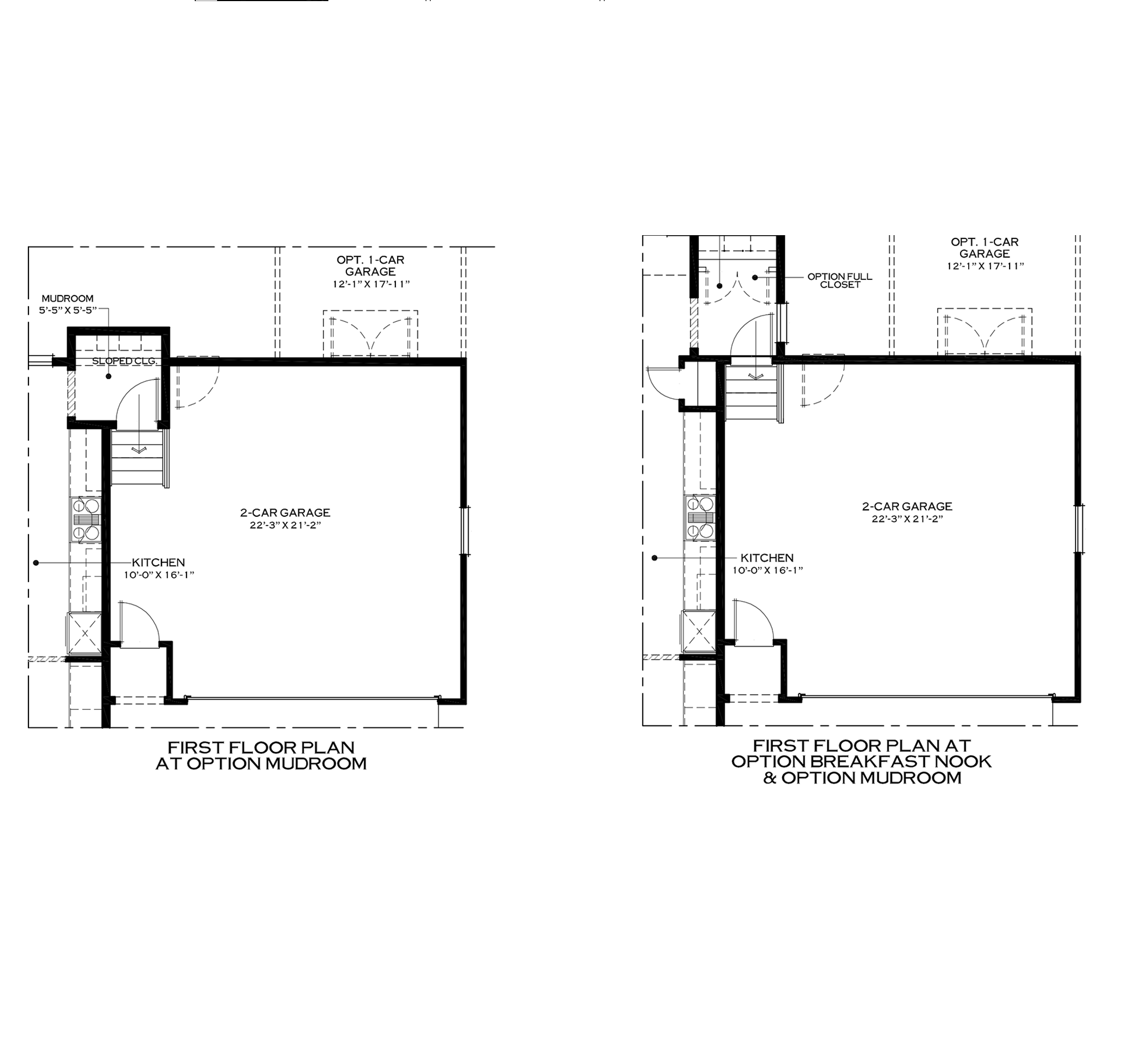 First Floor Mudroom Options
