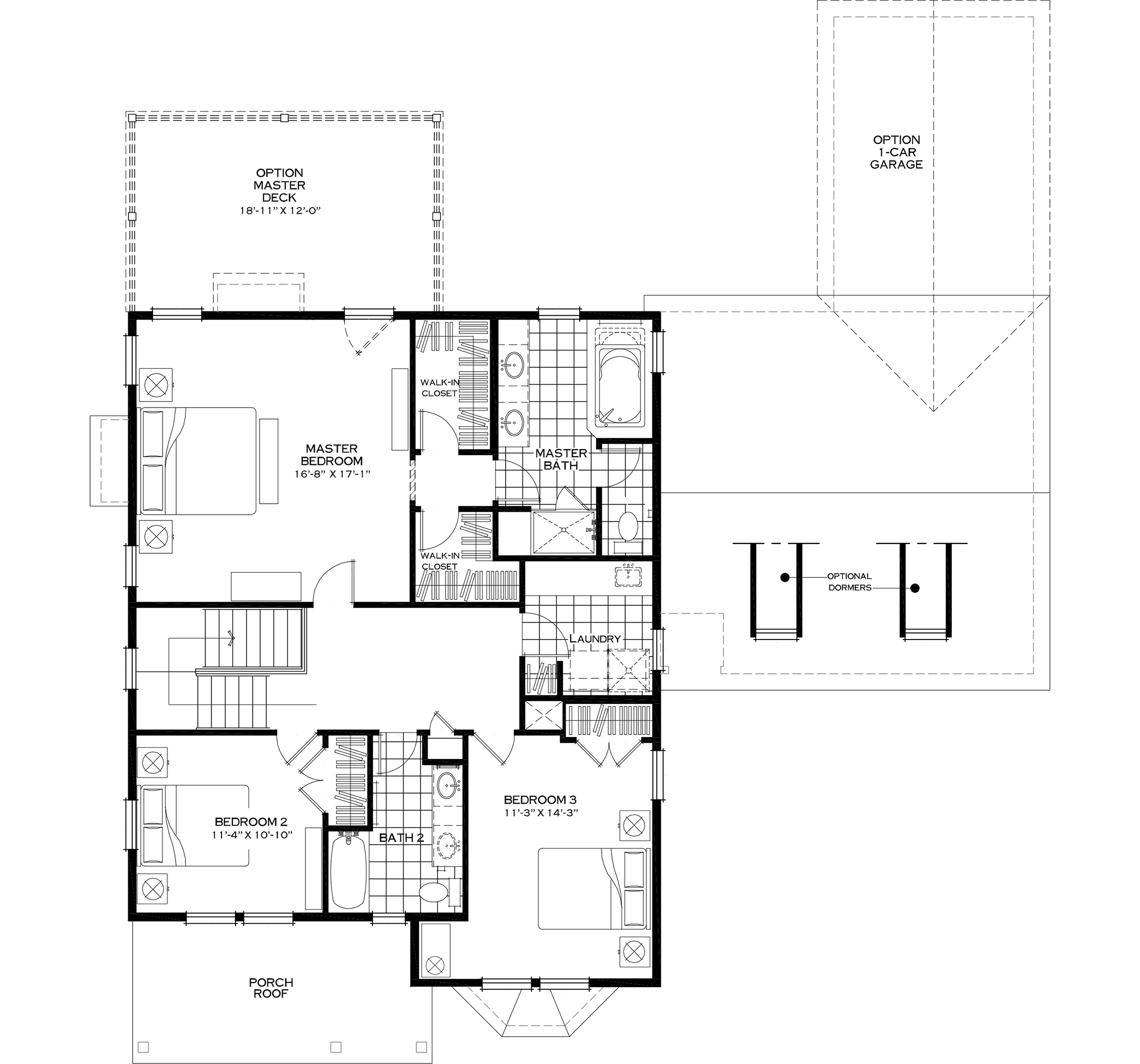 Second Floor Alternative Layout