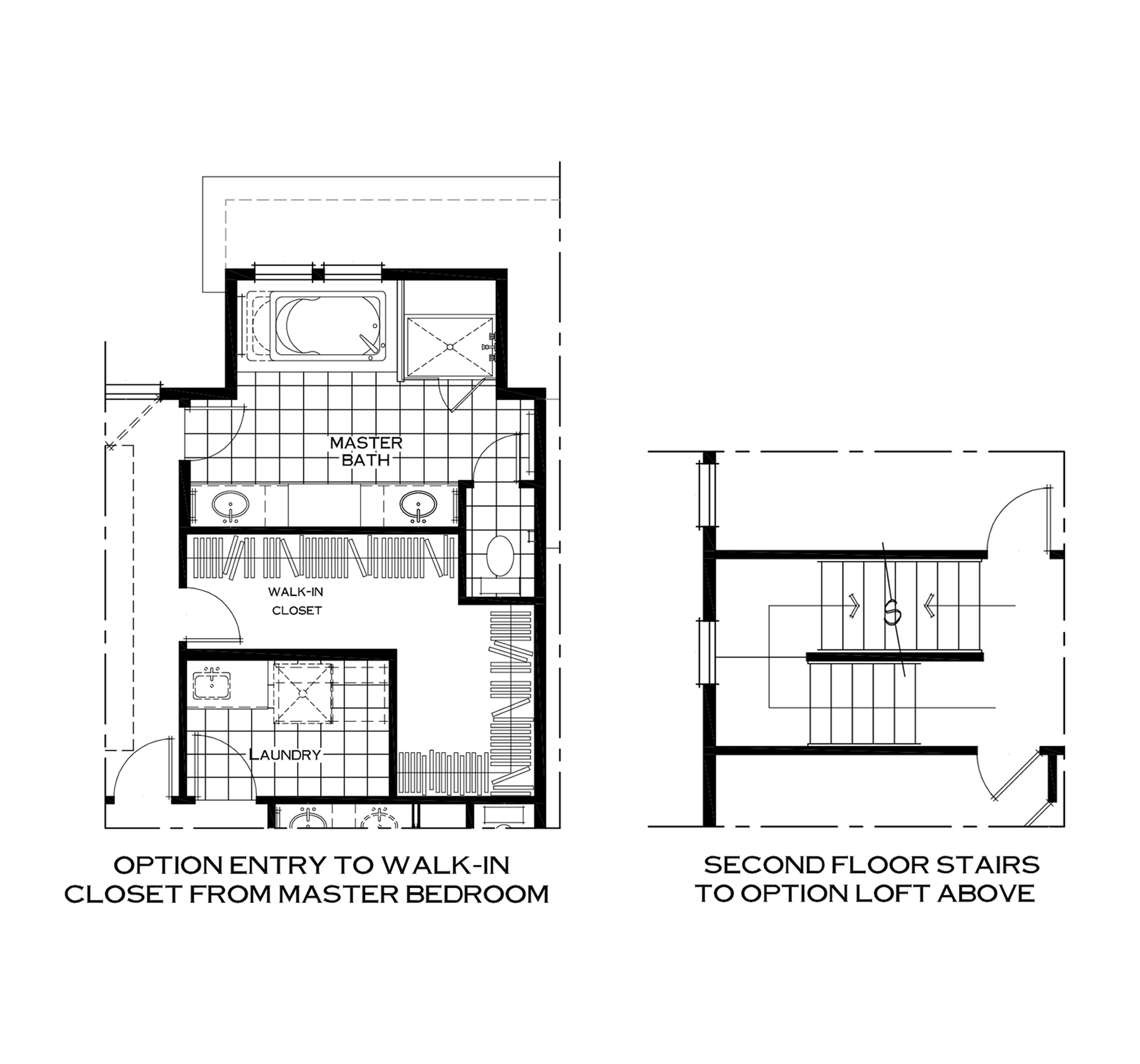 Additional Second Floor Options