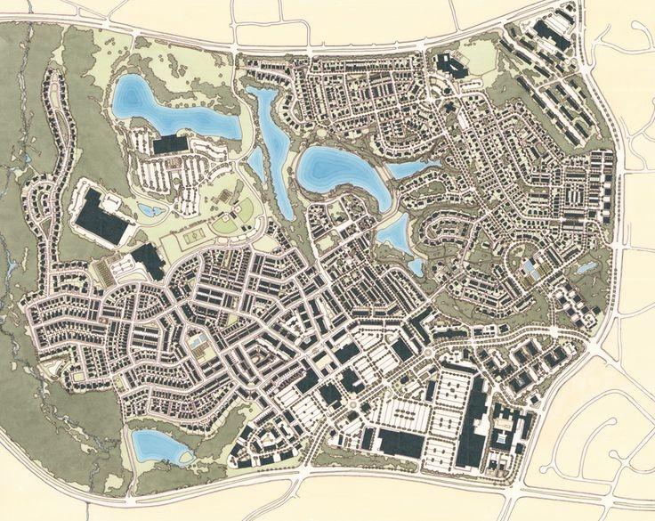 Kentlands Community Plans   (Source: www.DPZ.com)