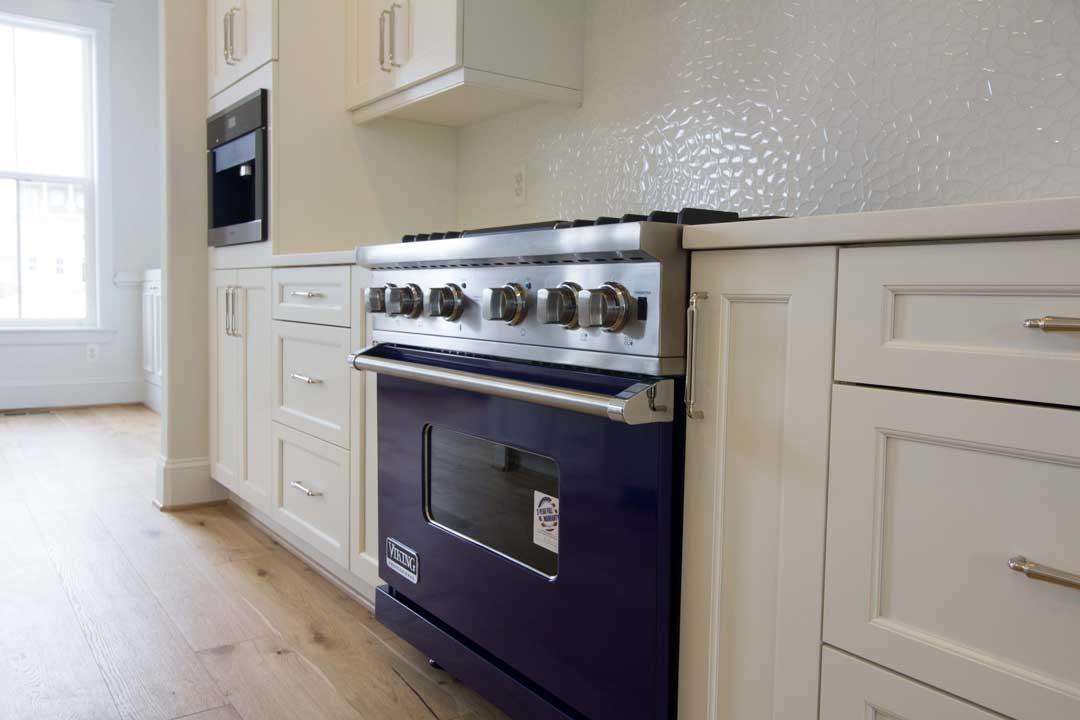 Professional gas range in a Parkwood