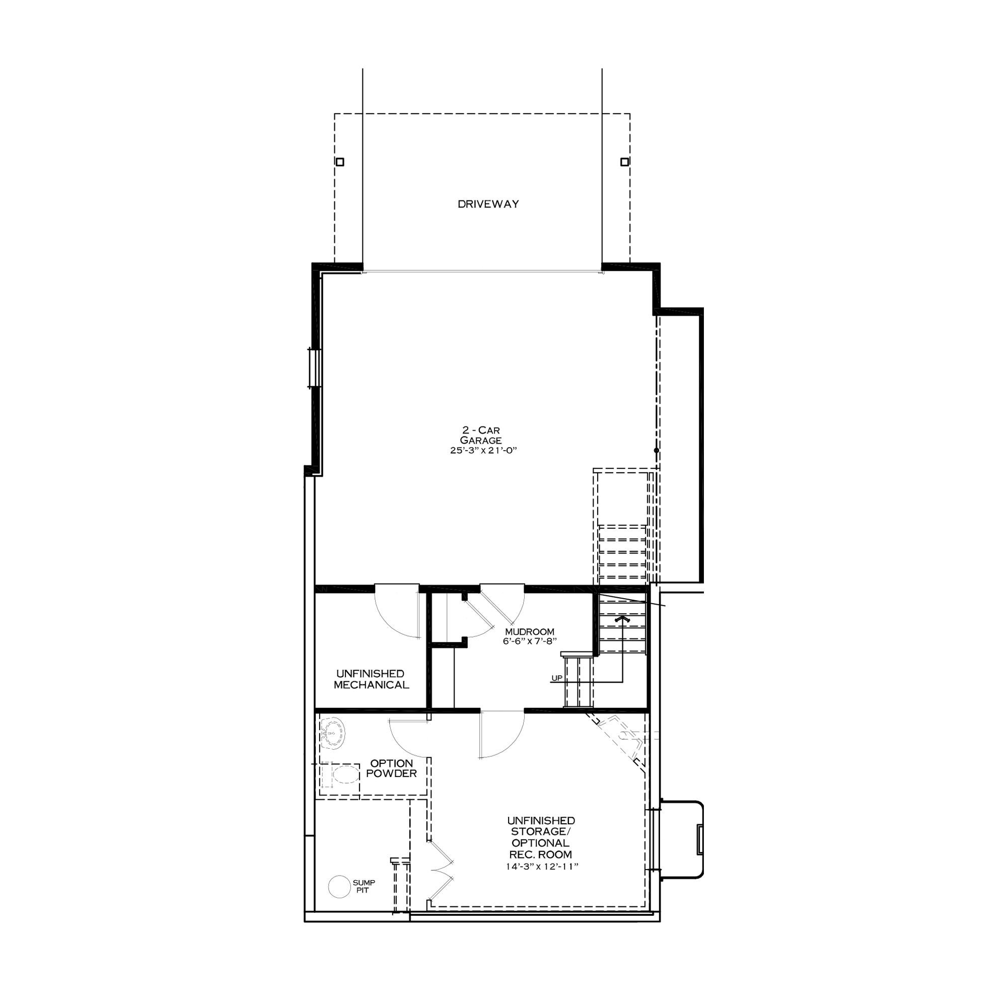 Standard First/Garage Floor