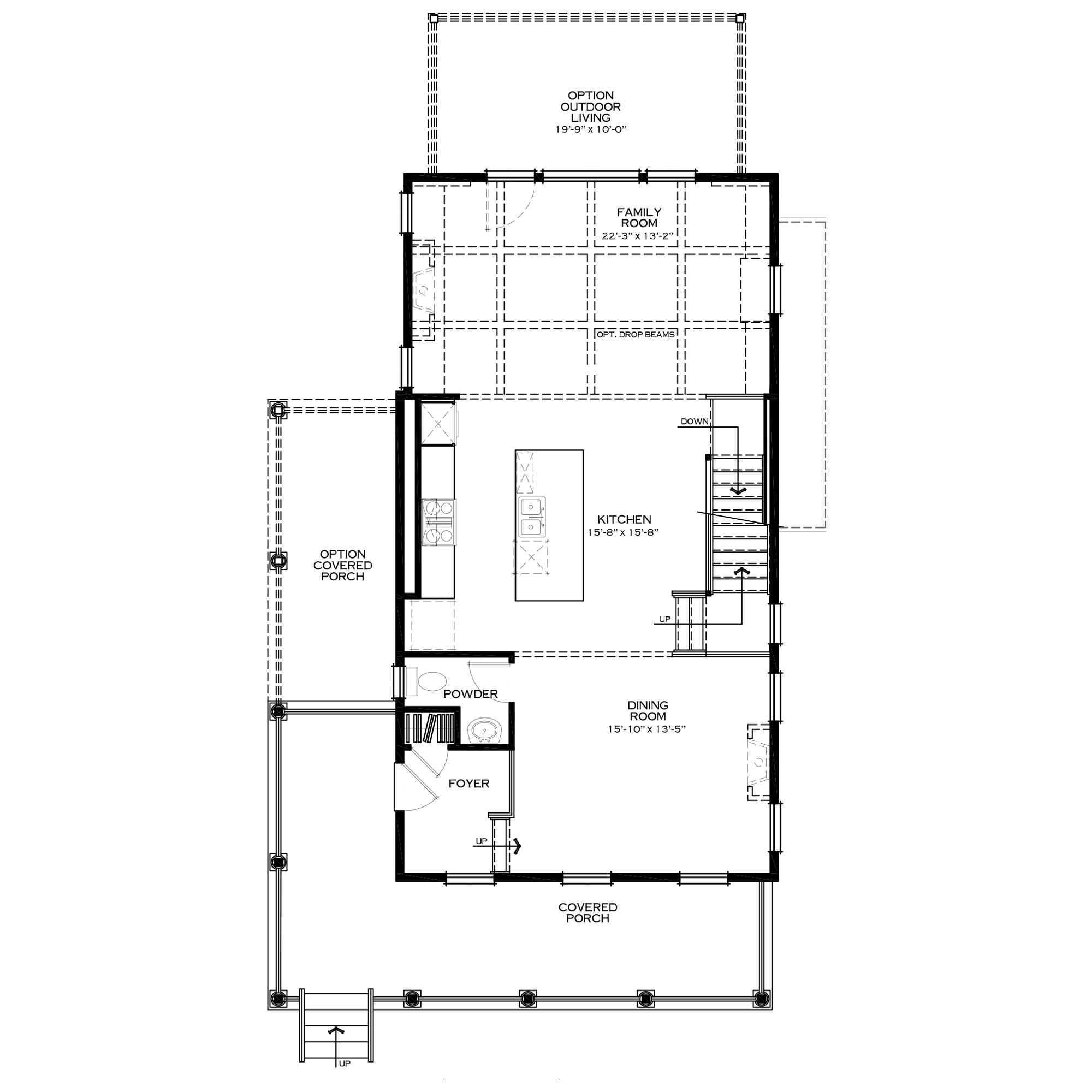 Standard Second/Main Floor
