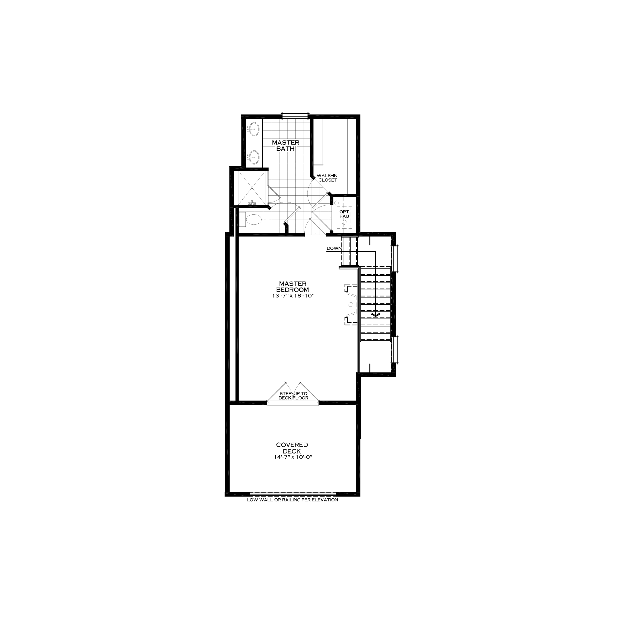 Optional Loft with Master Suite