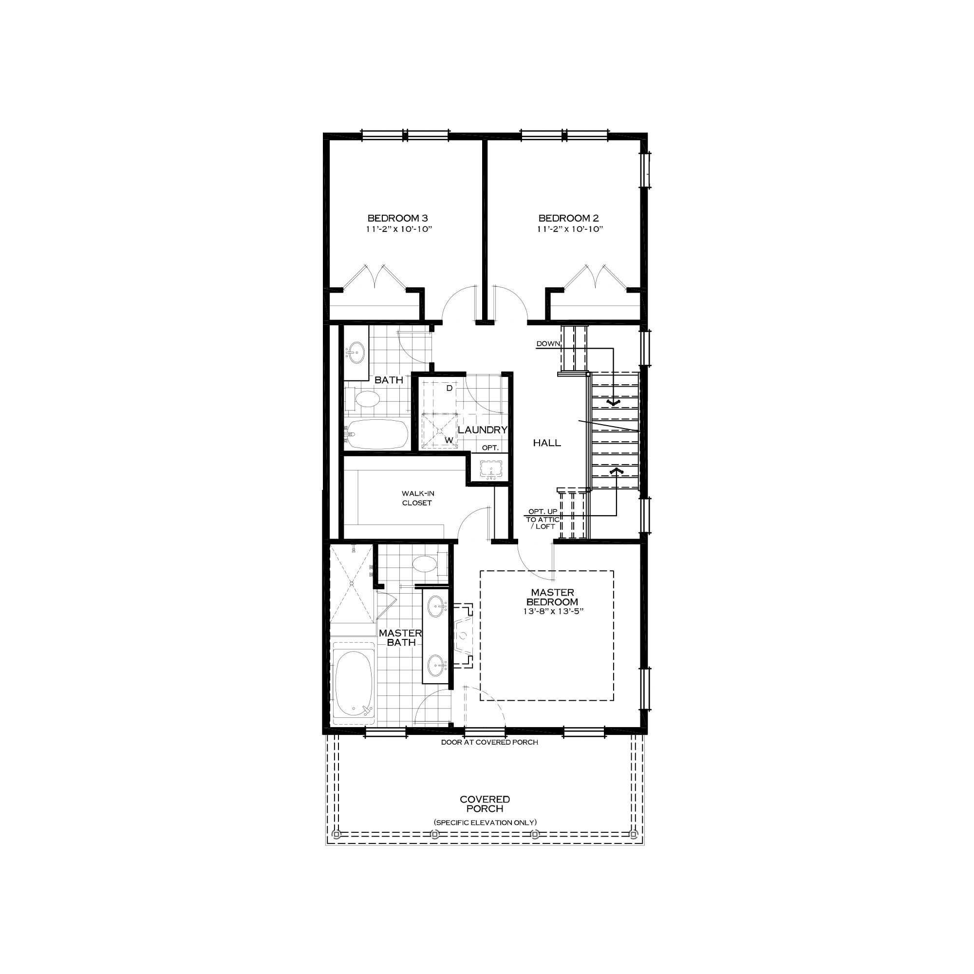 Standard Third/Bedroom Floor