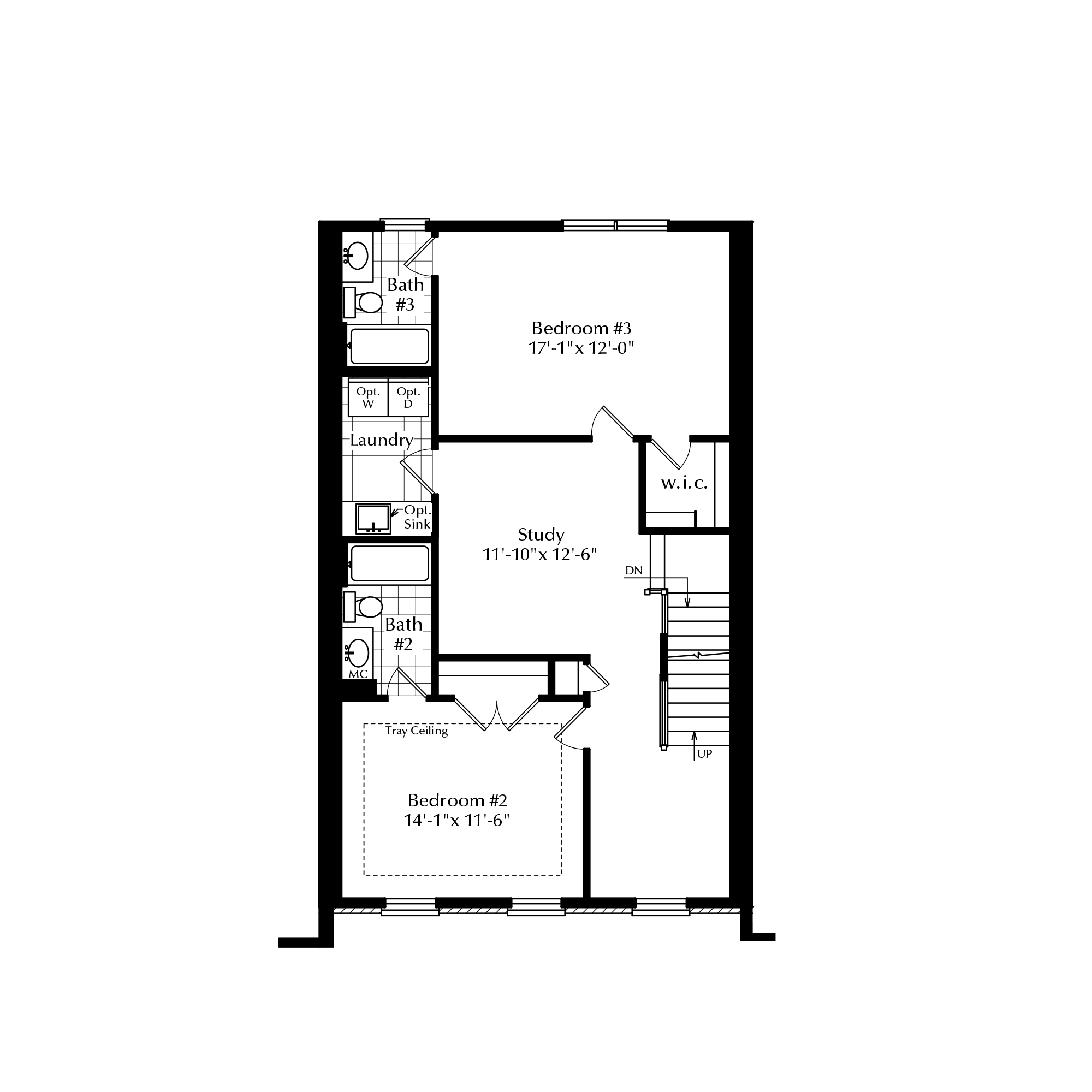 Second Floor with Two-Bed Option