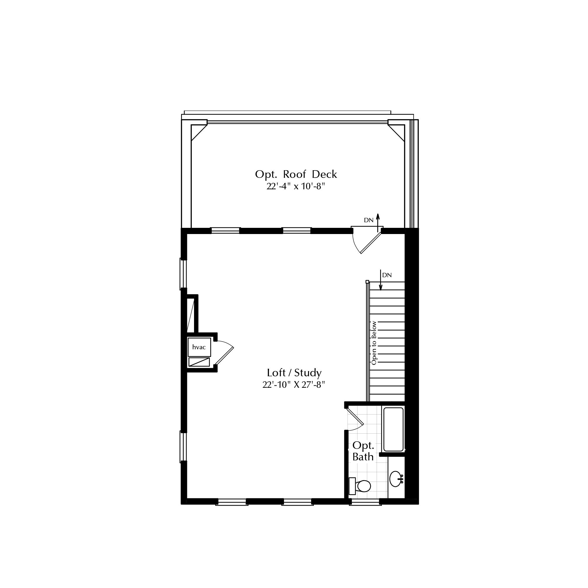 Standard Third Floor Loft