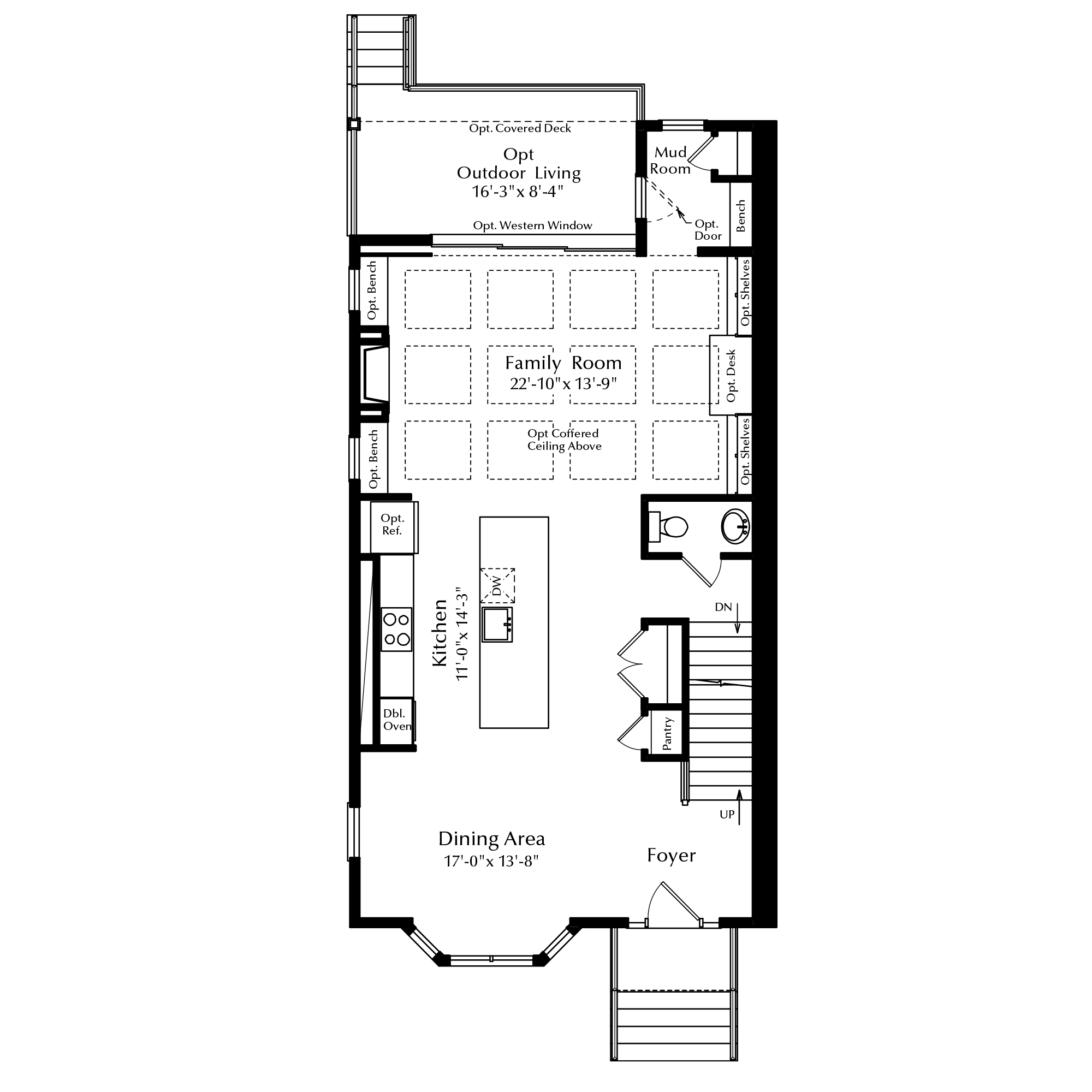 First Floor with Options