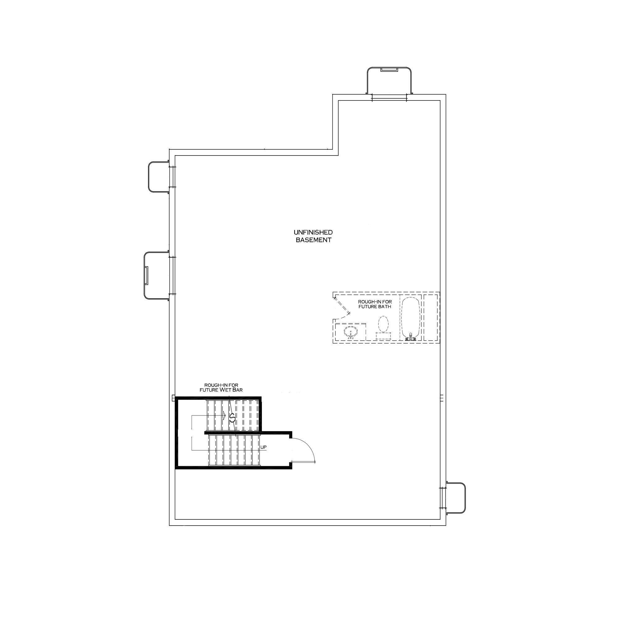Standard Unfinished Basement