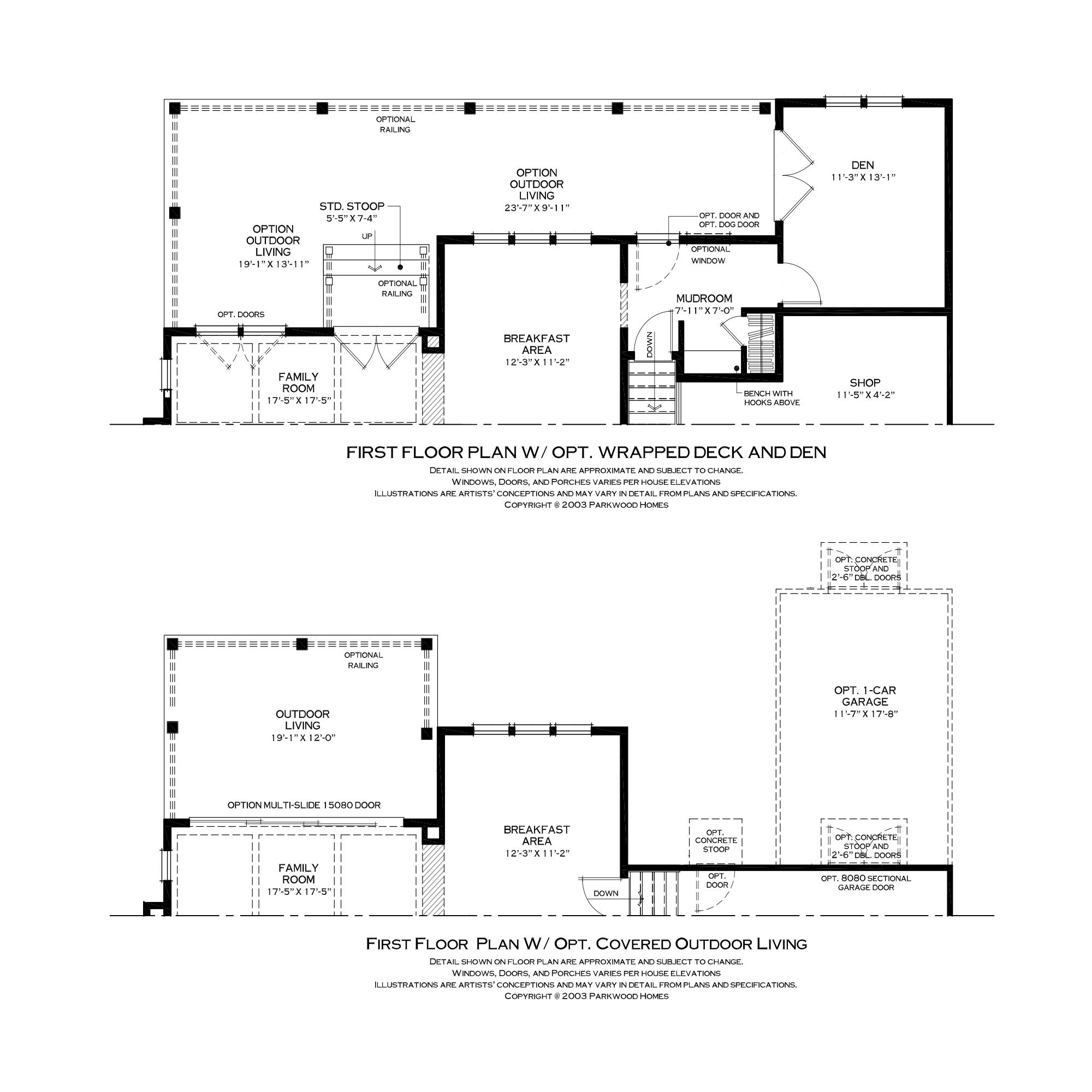 First Floor Outdoor Living Options