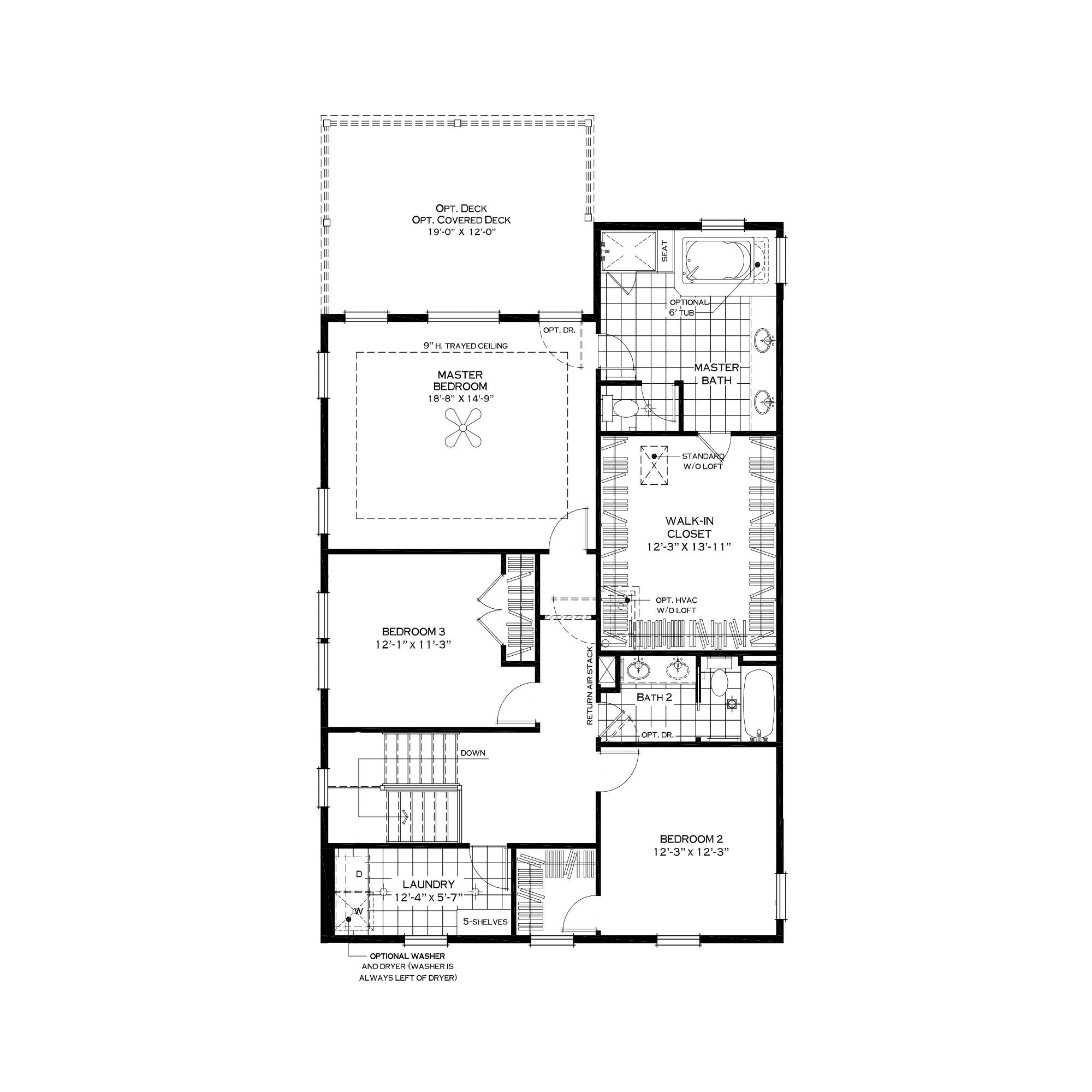Standard Second Floor
