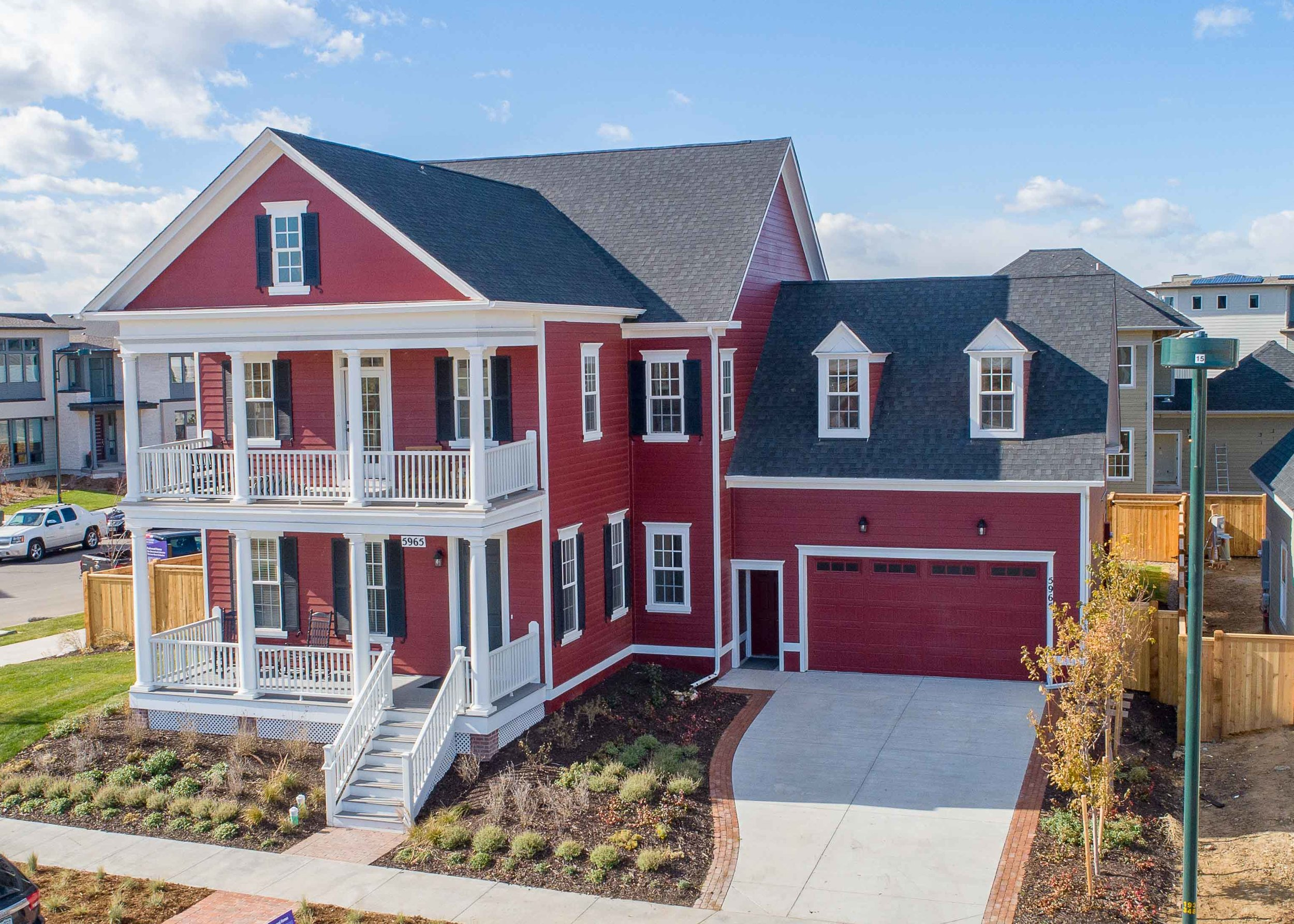The Asheville Model Home in Stapleton