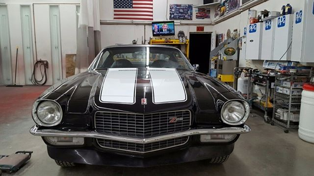 Soon to be for sale our gorgeous 1971 #chevrolet #camaro #4speed #z/28