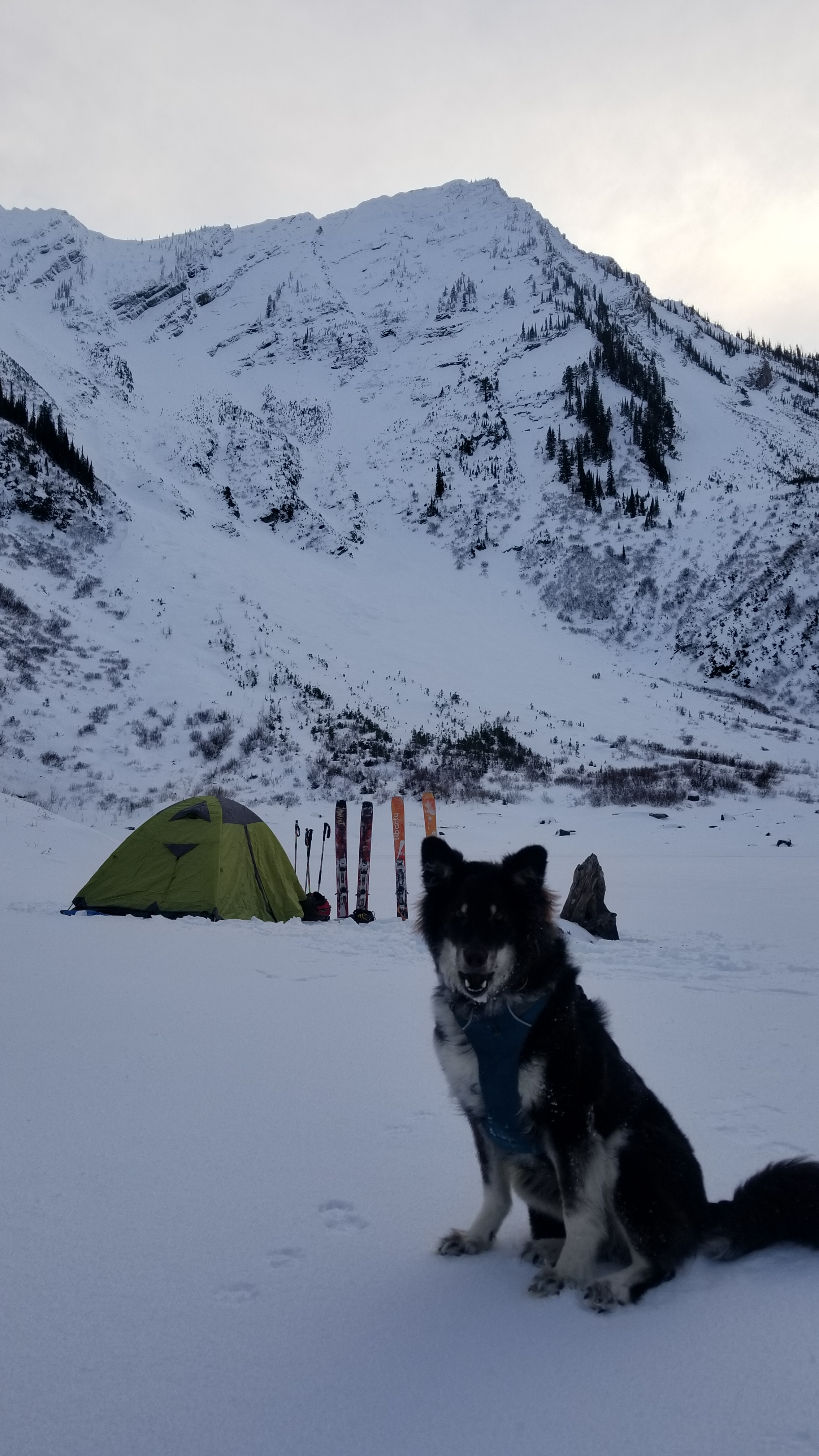 Just because it is winter does not mean camping is over!!