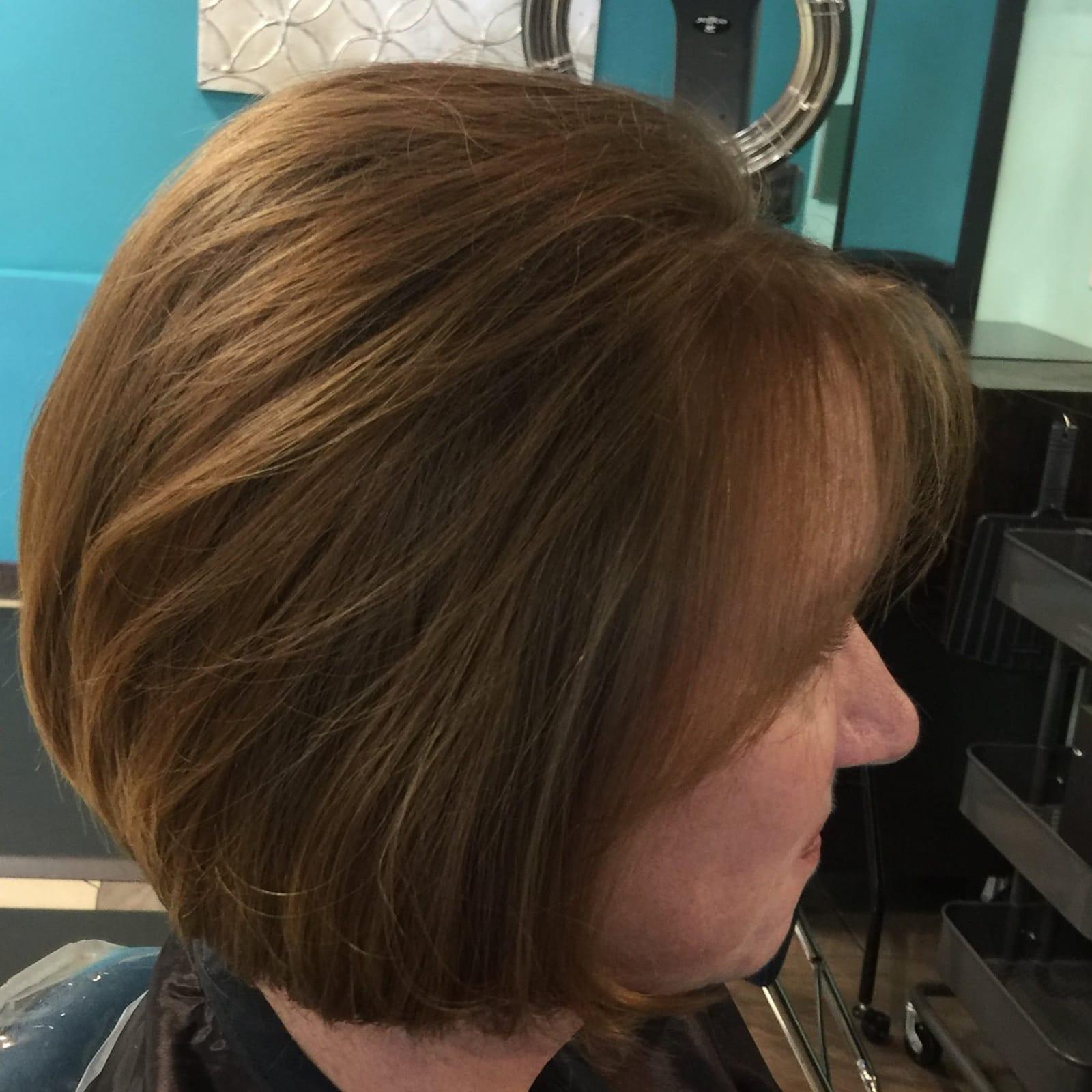 Color & Bob Haircut
