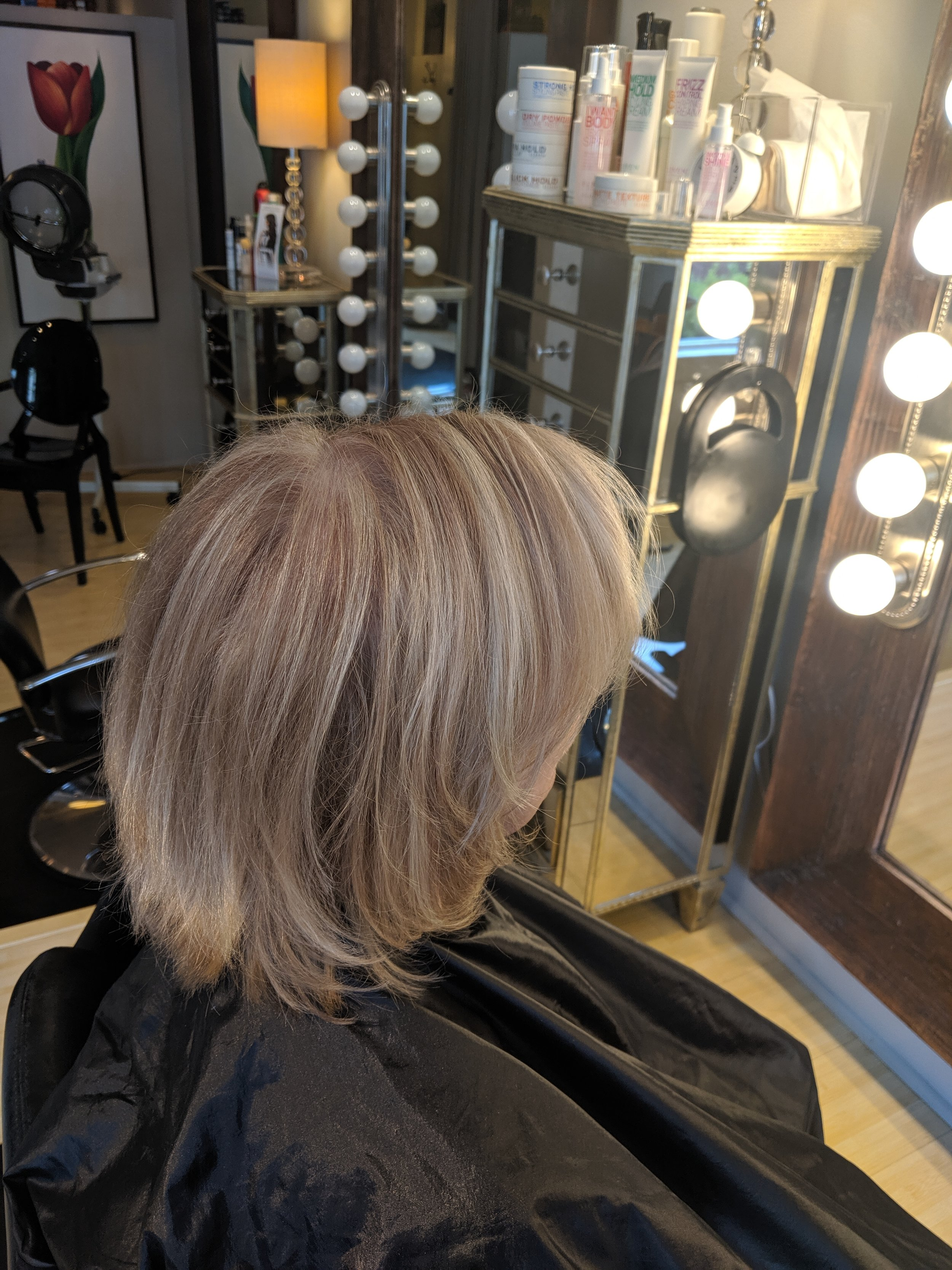 Highlight / Root touch